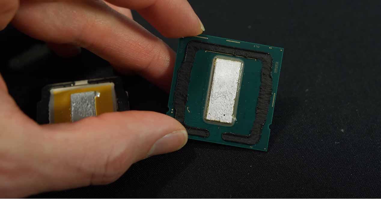 Procesador Core i9-10900K con delid
