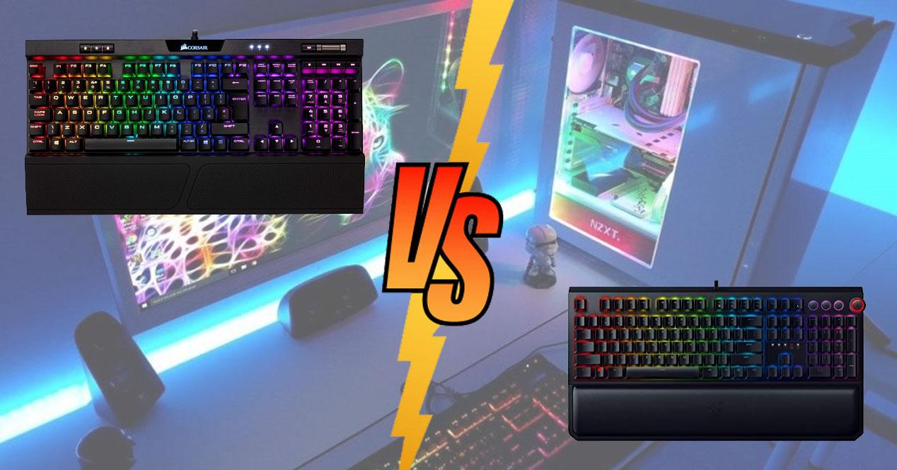 Technical comparison of the Corsair K70 vs Razer BlackWidow, better?