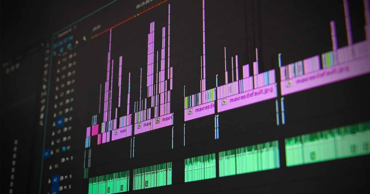 Procesadores para edición de vídeo