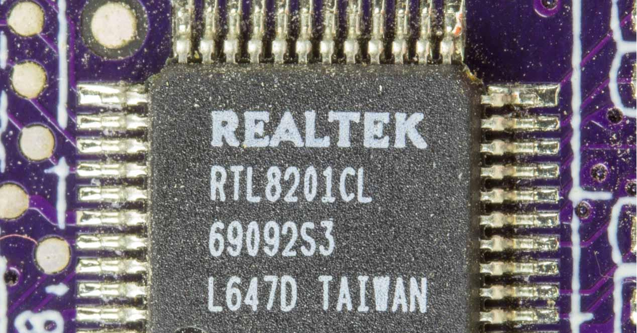 Chip PHY Realtek