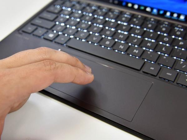 Touchpad de un portátil