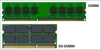 Memoria RAM DIMM vs SO-DIMM