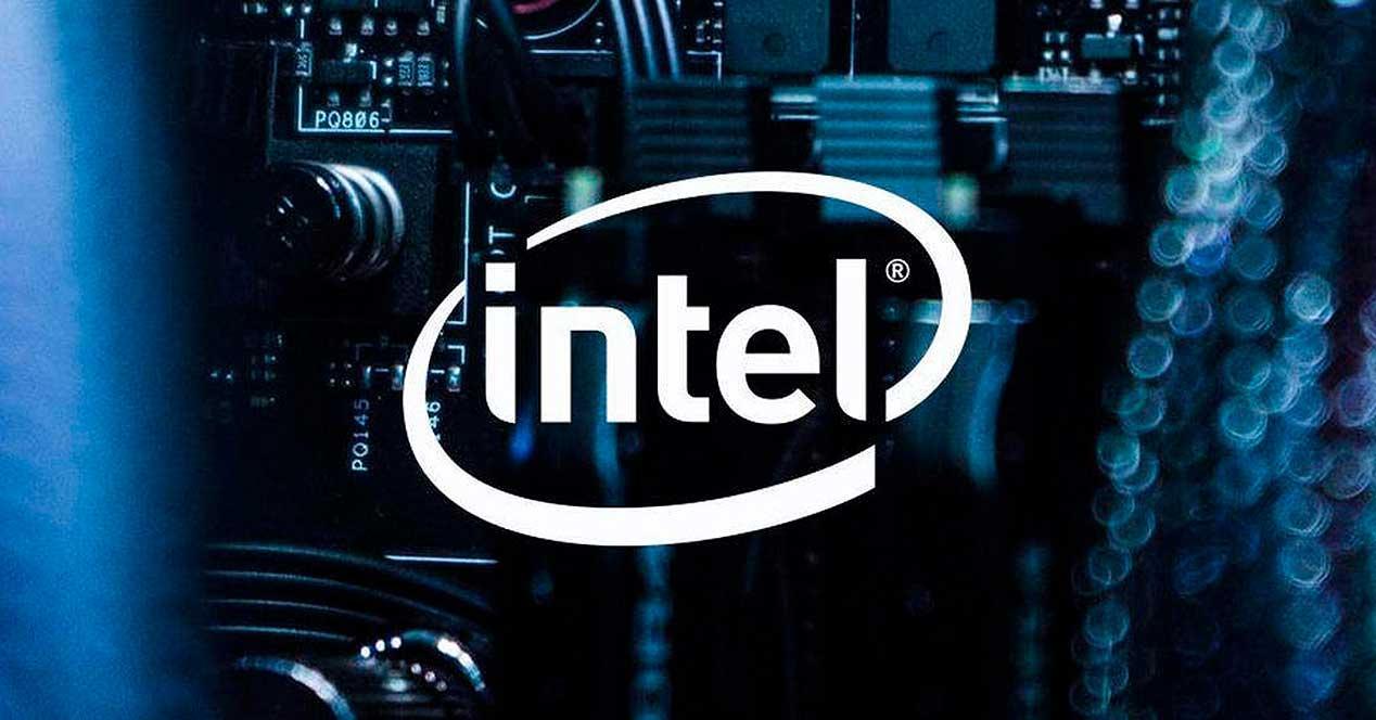 Intel CPU Logo