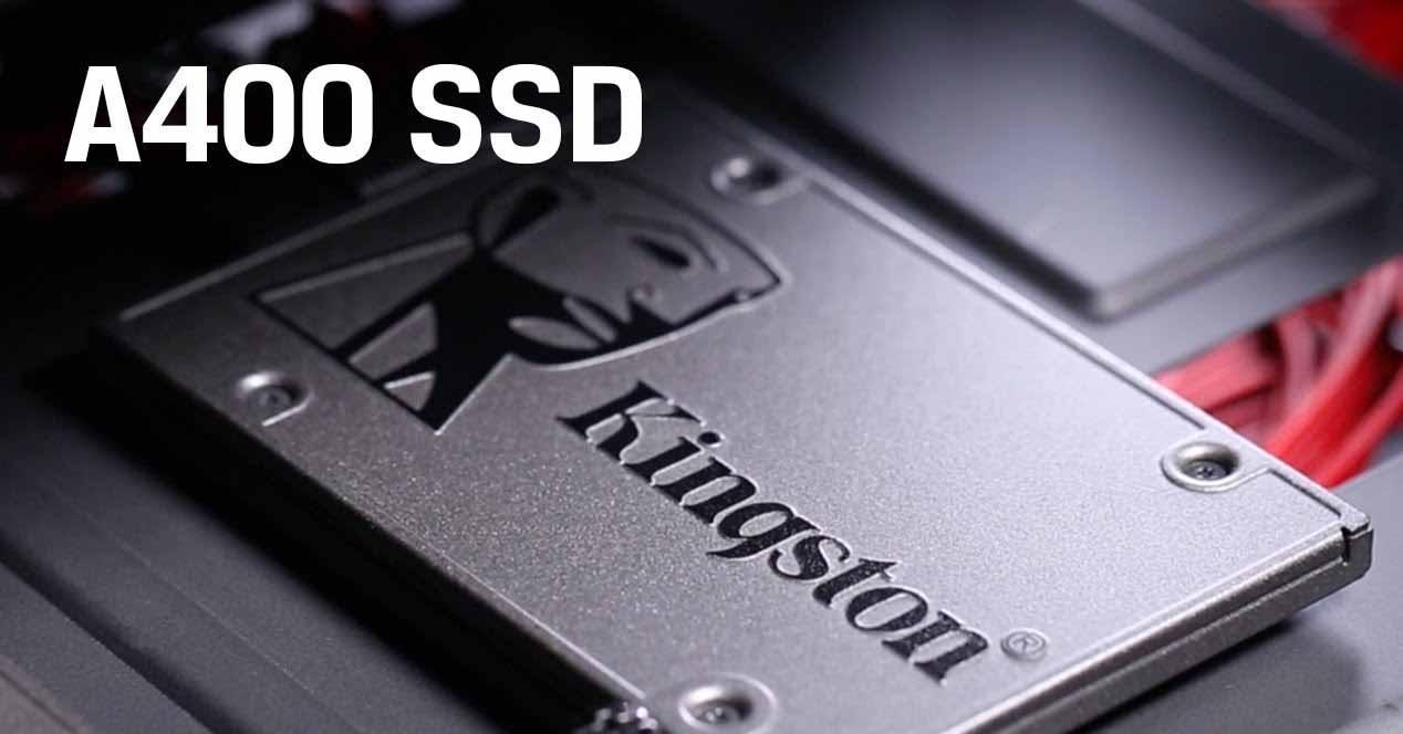 SSD barato Kingston A400