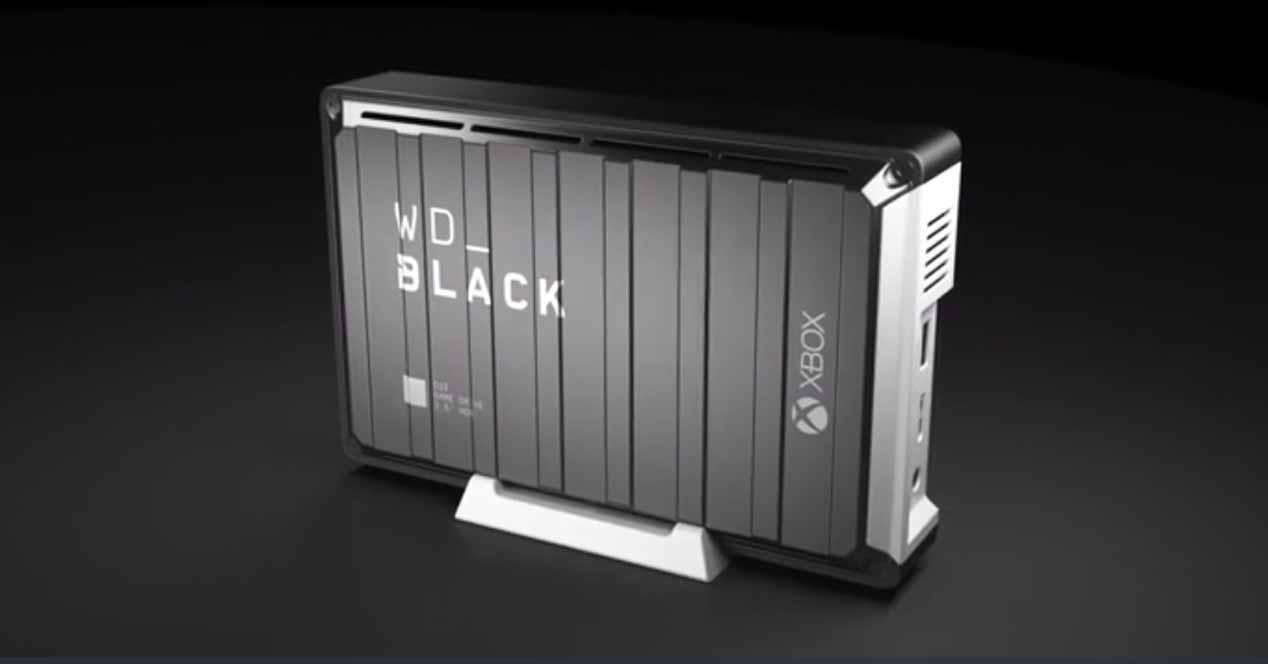 Disco duro externo WD Black 12 TB