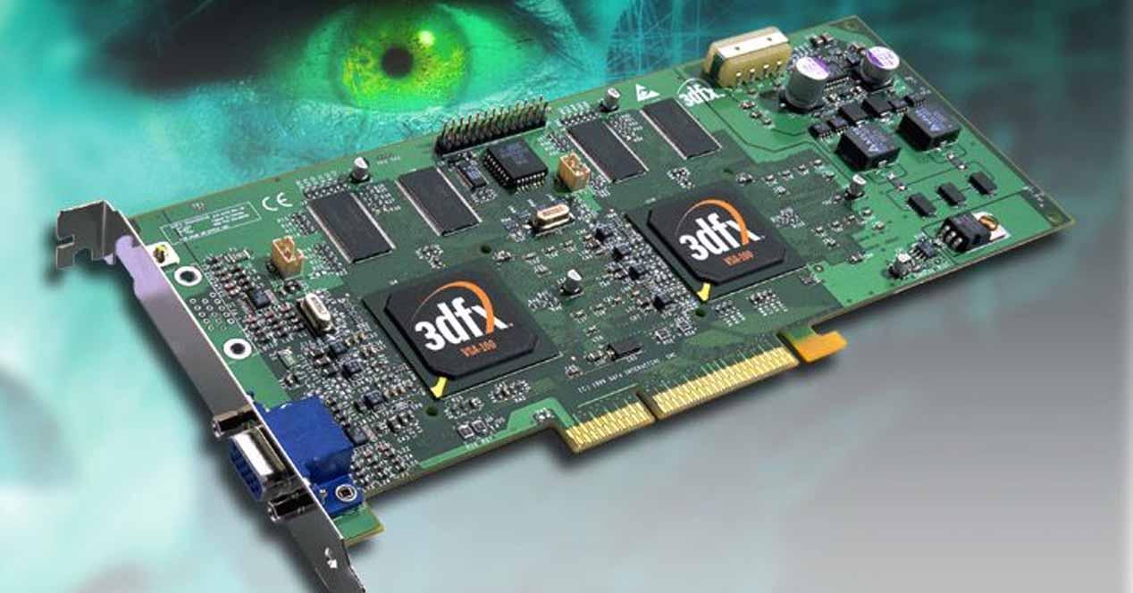 Evolución GPUs Tarjeta 3D