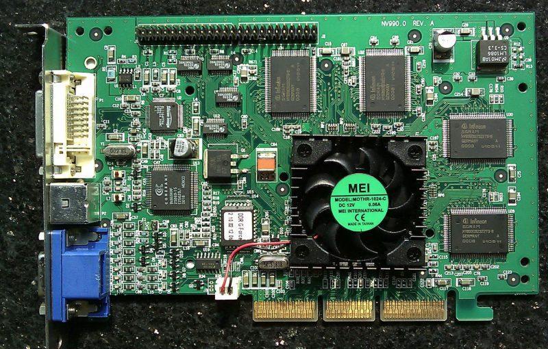 NVIDIA GeForce 256 fue una de las mejores tarjetas gráficas de la historia