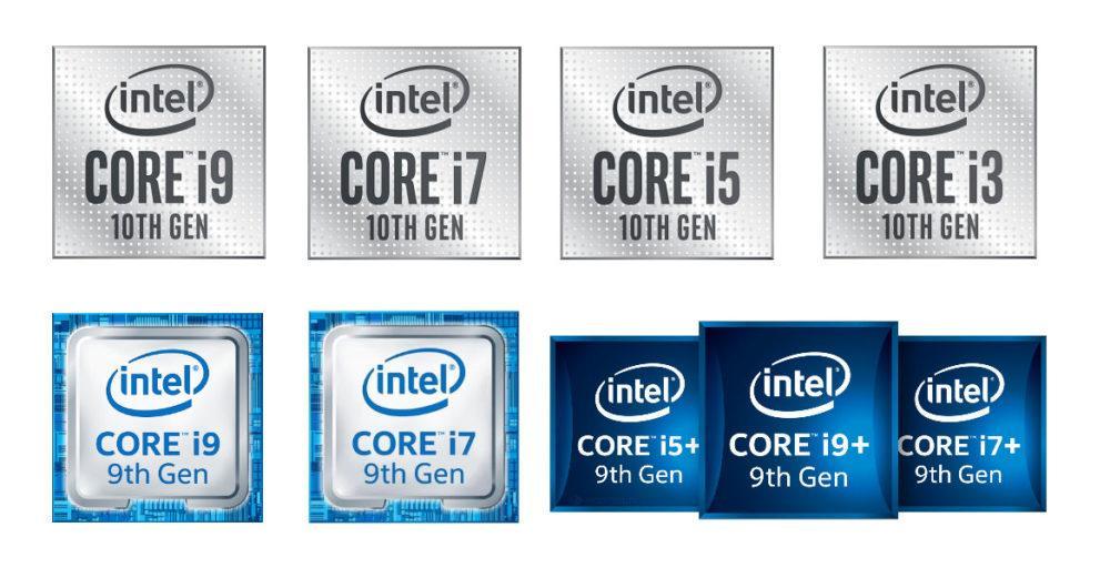 Intel viejos logos