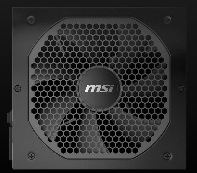 MSI MPG GF fuentes alimentación