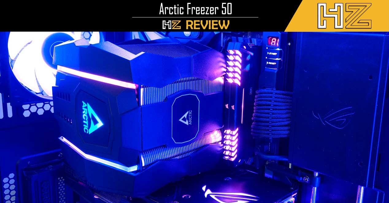 Arctic Freezer 50 review Portada