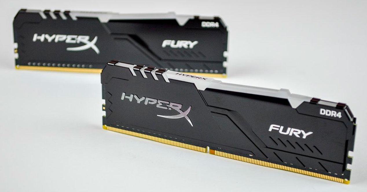 RAM HyperX Fury RGB