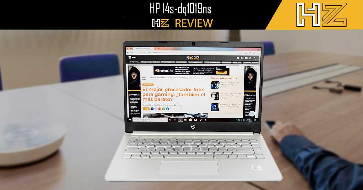 Review HP 14s-dq1019ns