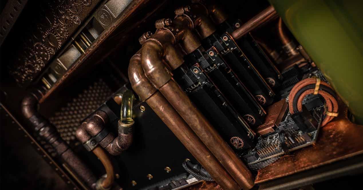 Caja PC cobre