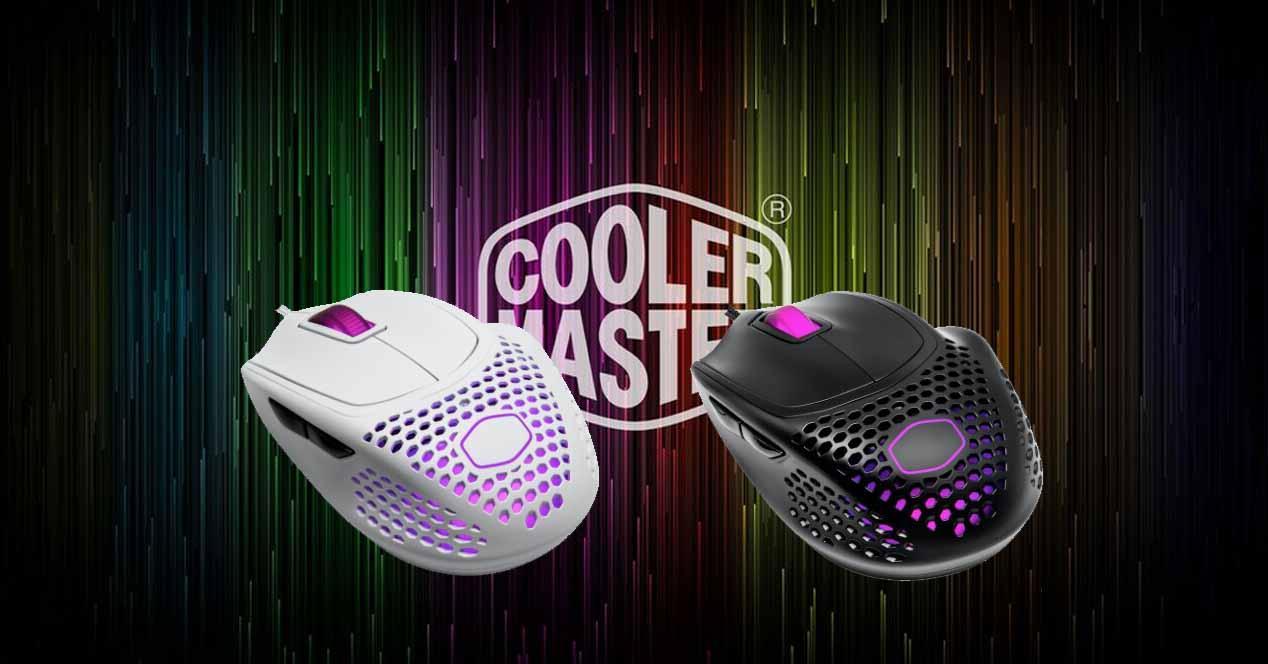 Cooler Master MM720 ratón gaming ligero
