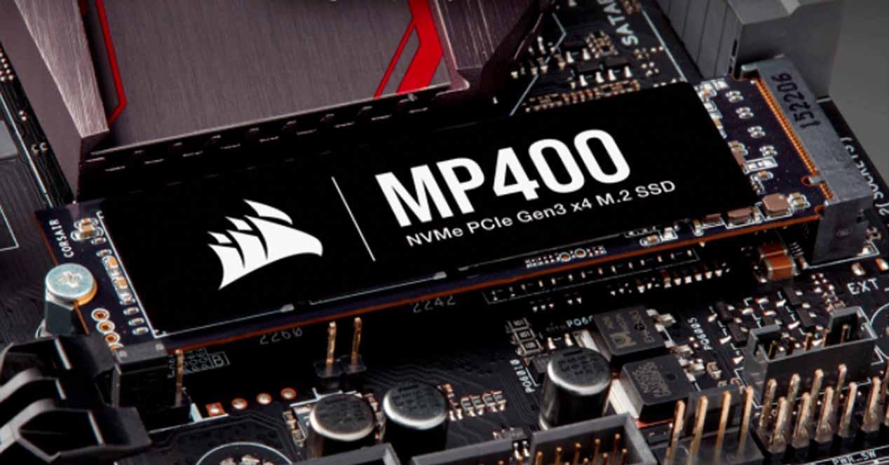 Corsair MP400 SSD