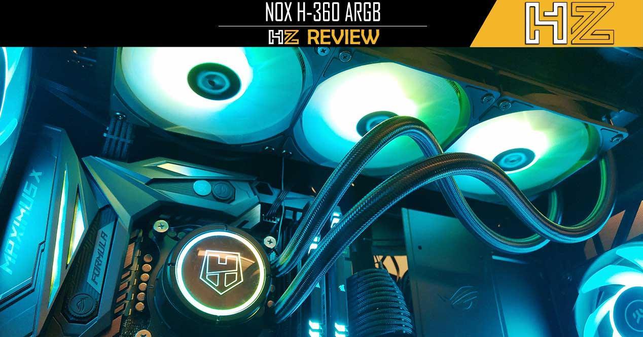 NOX Hummer H-360 ARGB Portada