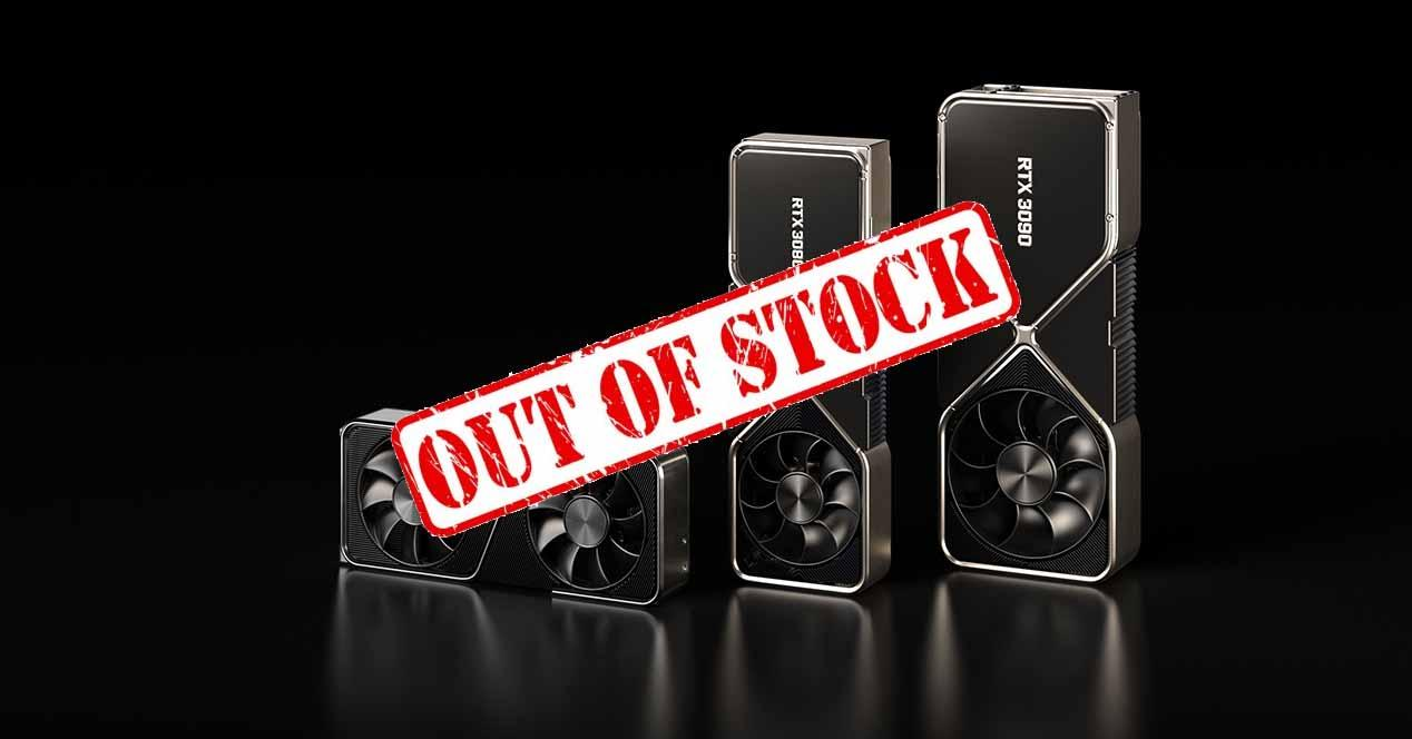 NVIDIA RTX out of stock