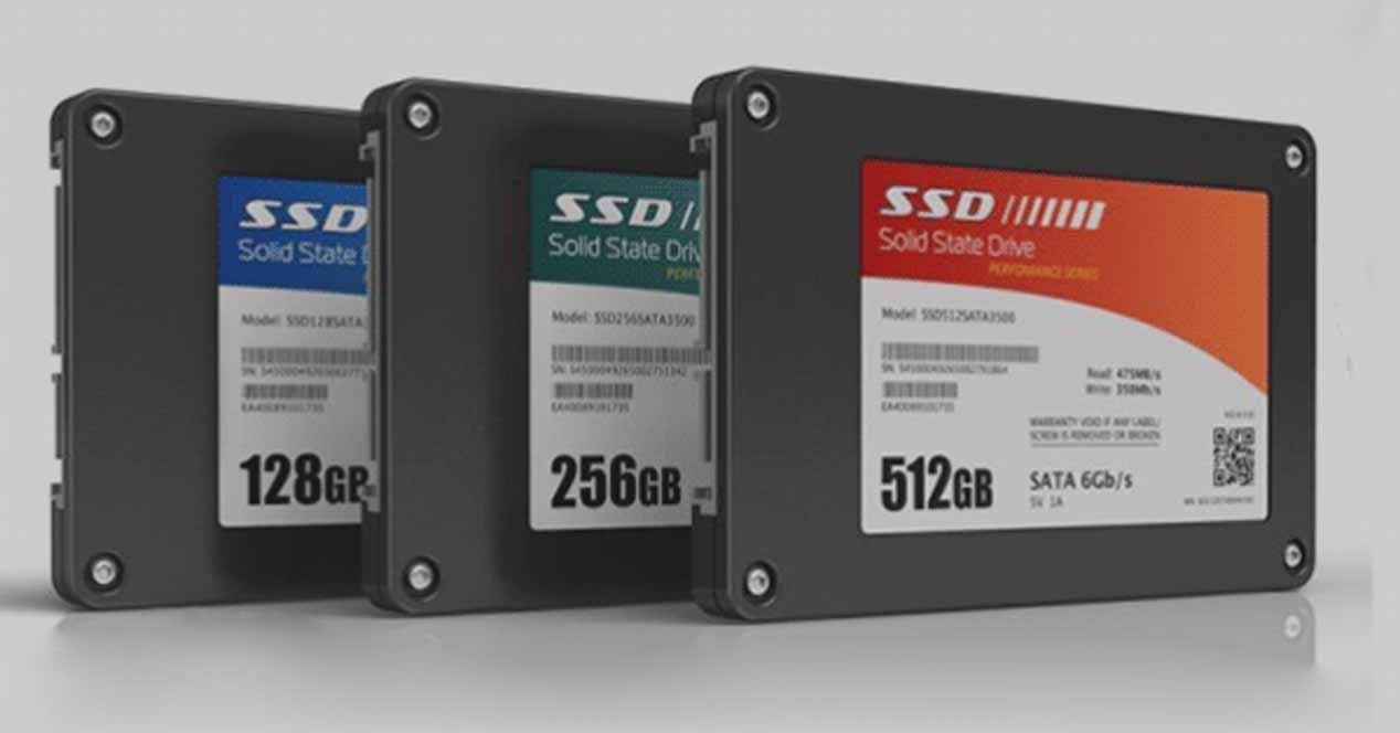 Particiones SSD