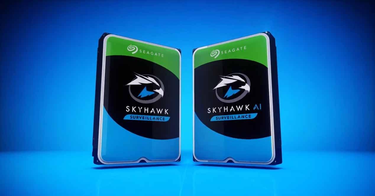 Discos duros Seagate SkyHawk AI