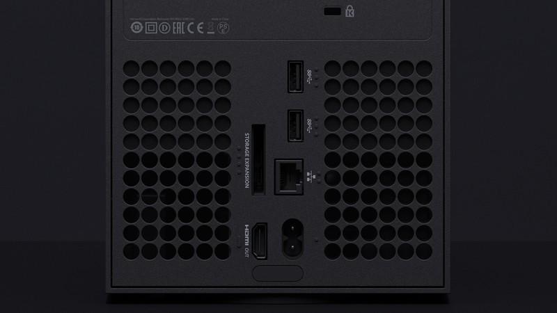 Xbox Series X puertos HDMI