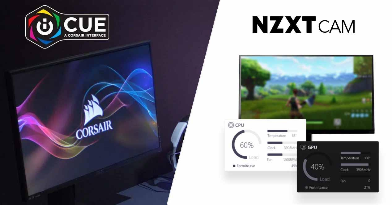 Corsair iCUE ve NZXT Cam