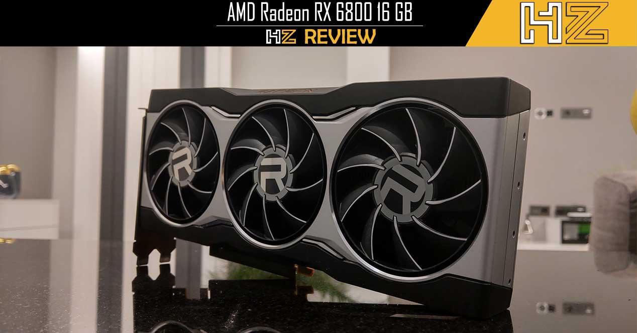AMD Radeon RX 6800 16 GB Portada