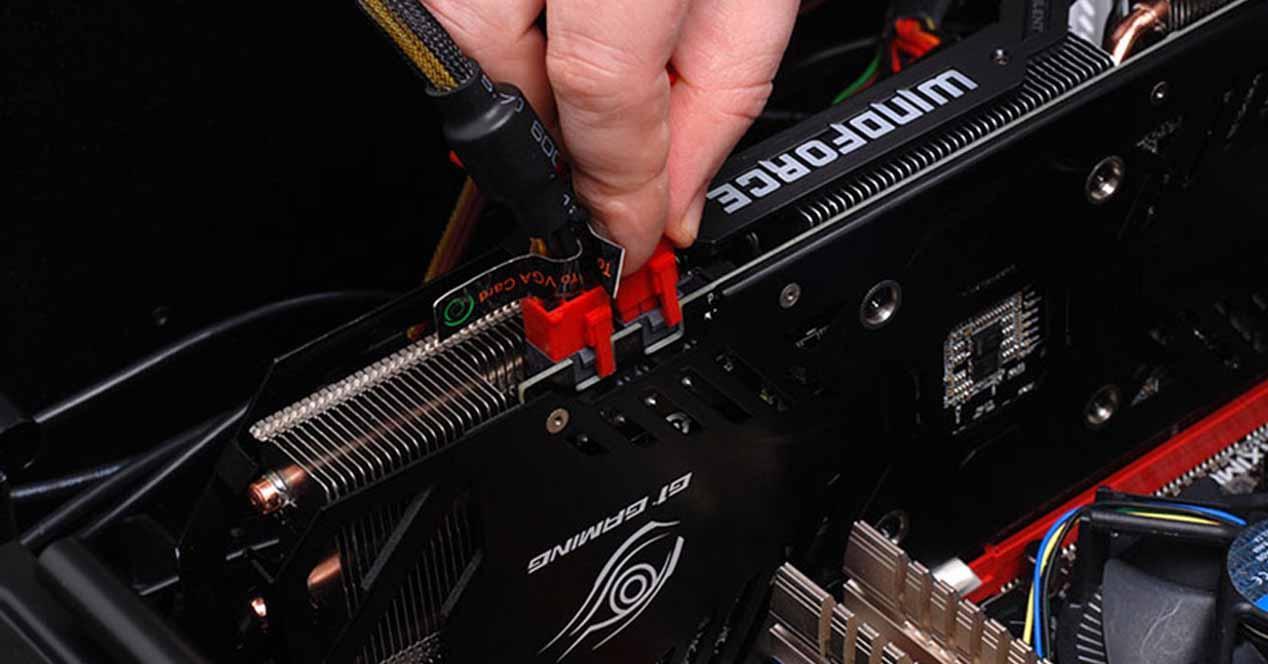Conectores alimentación GPU