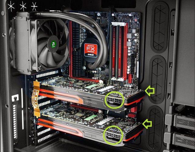 Conectores de alimentación GPU