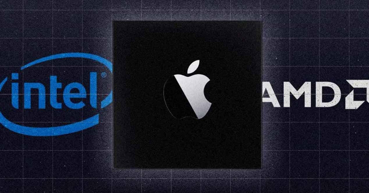 Intel AMD Apple
