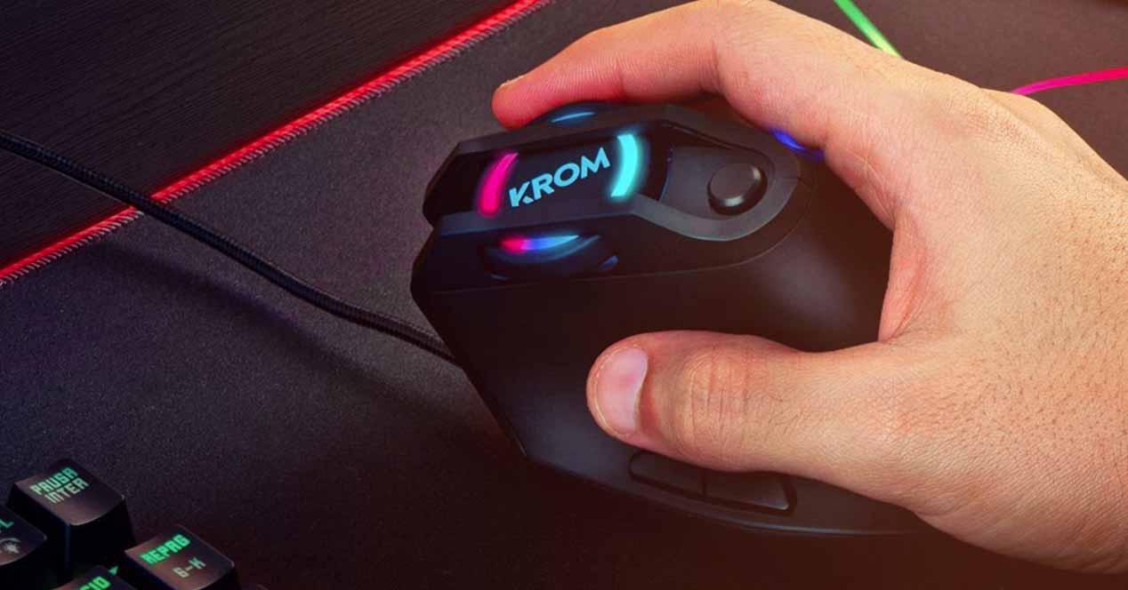Ratón gaming KROM Kaox