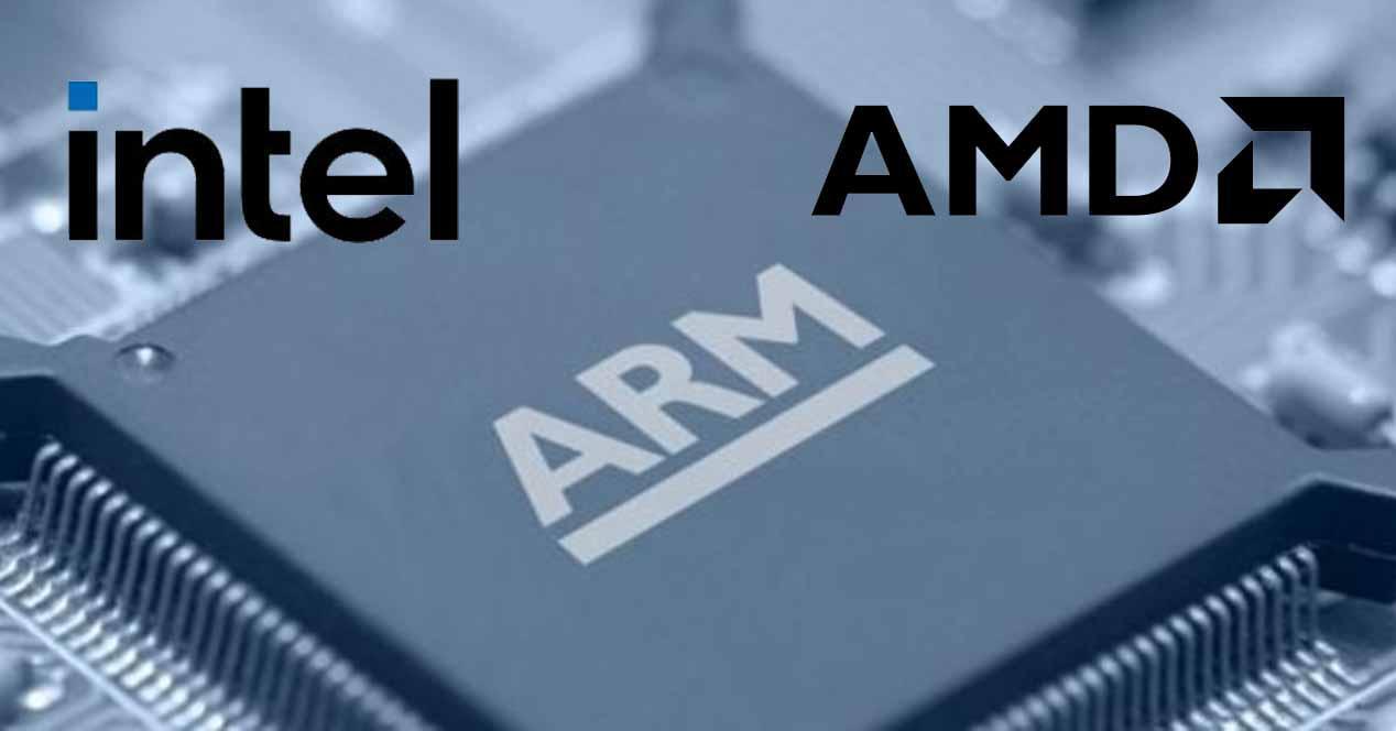 AMD Intel ARM
