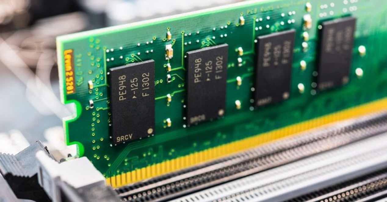 Capacidad memoria RAM