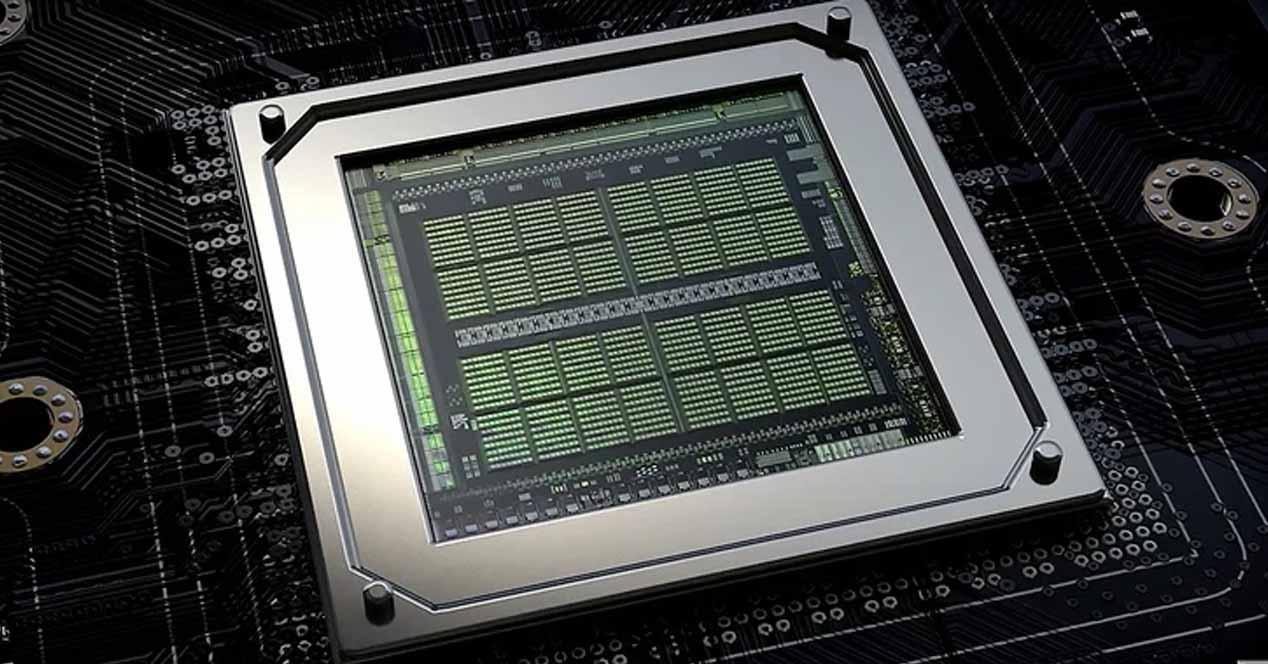 NVIDIA Ampere chip