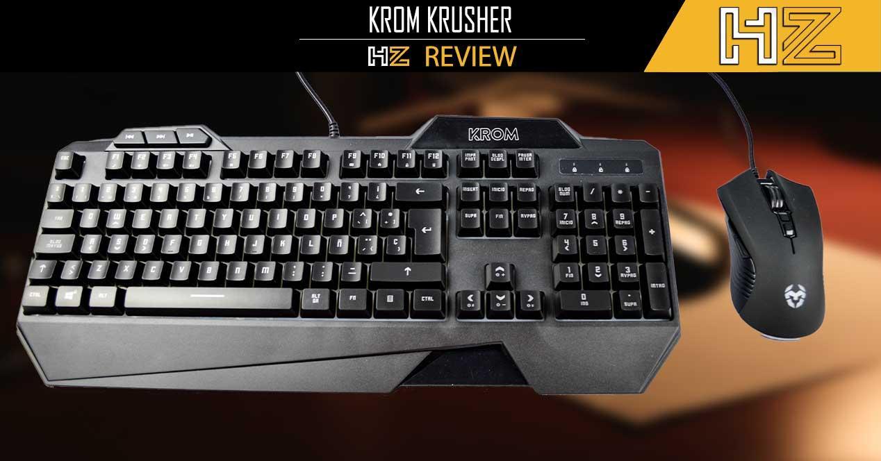 Review KROM KRUSHER