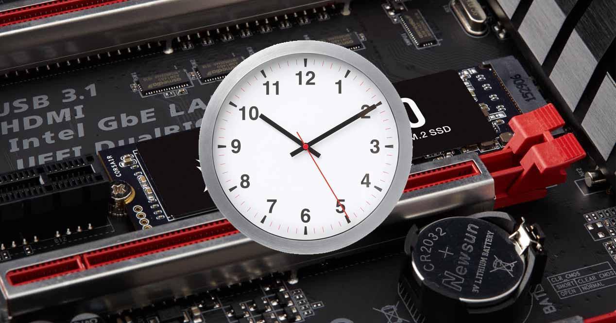Tiempo datos SSD