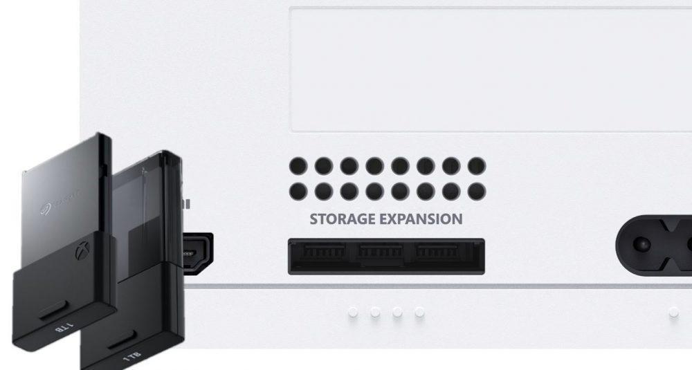 Xbox Series S almacenamiento ampliado