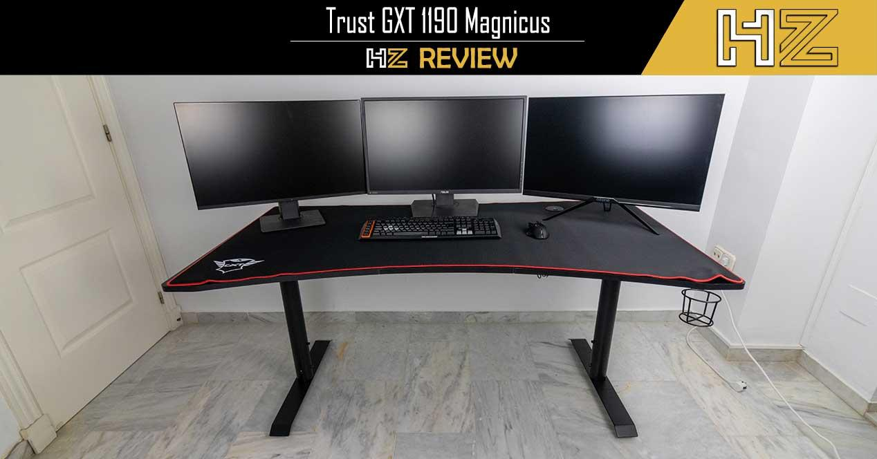 Trust GXT 1190 Magnicus Review mesa gaming