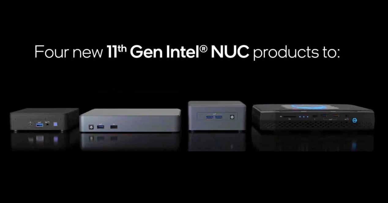 Intel NUC 11 Series