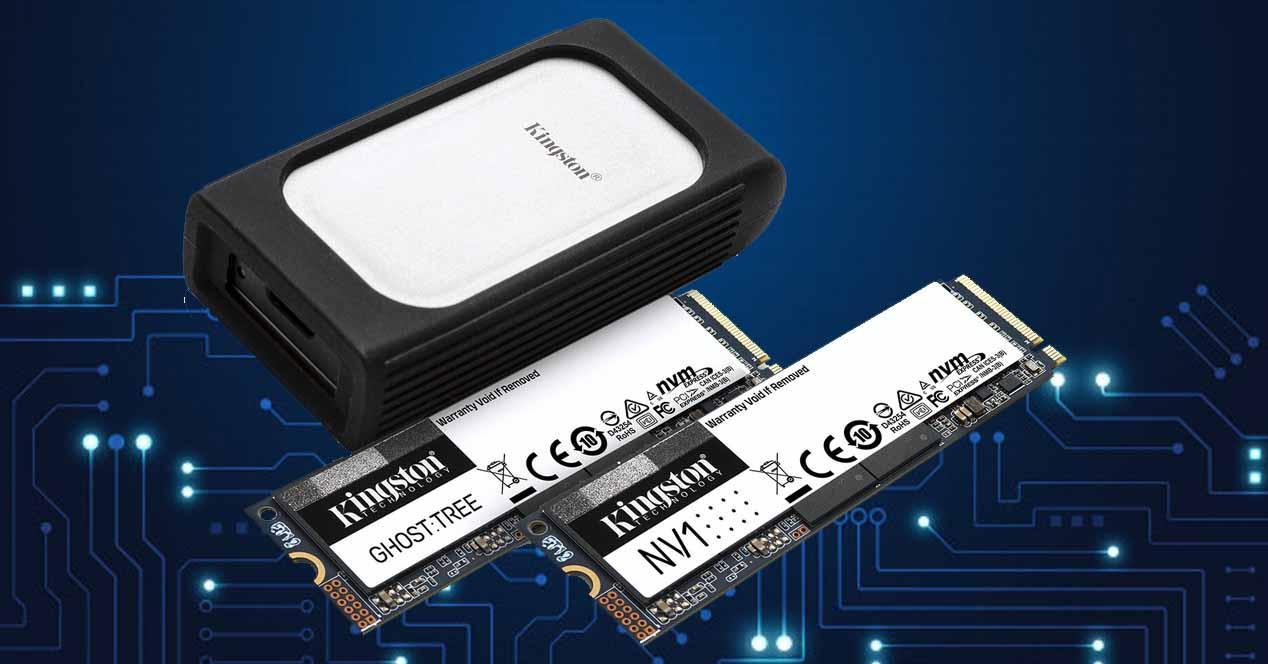 Kingston SSDs NVMe