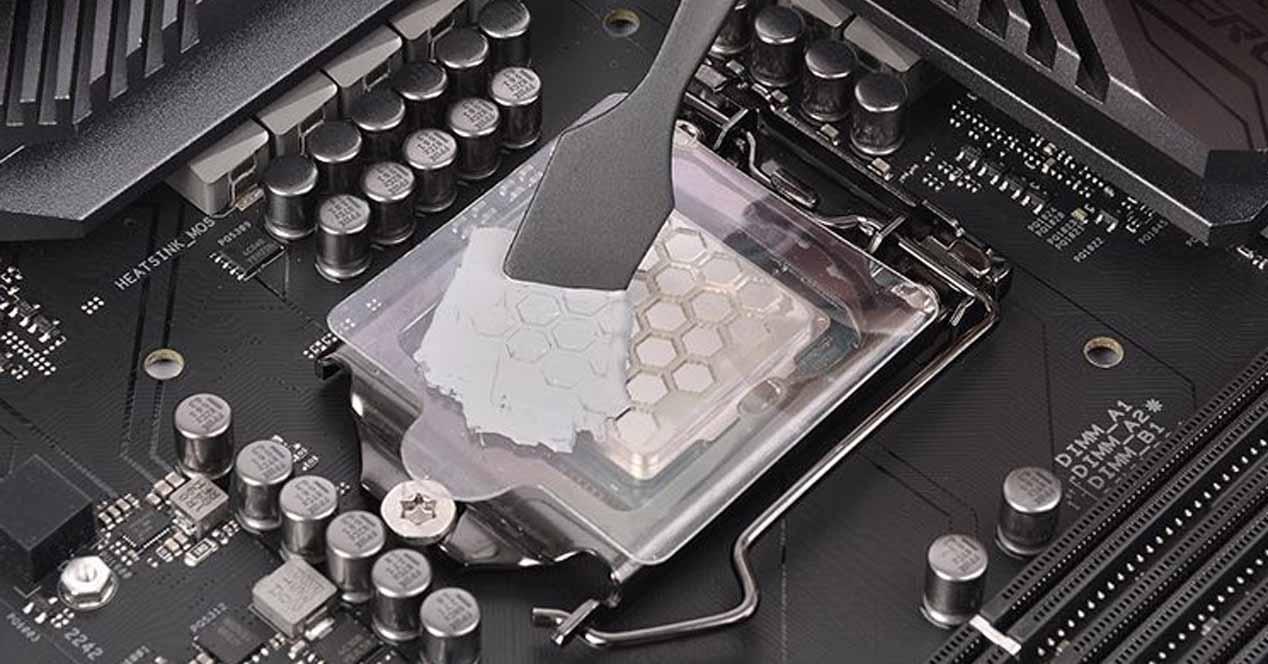 Pasta térmica CPU