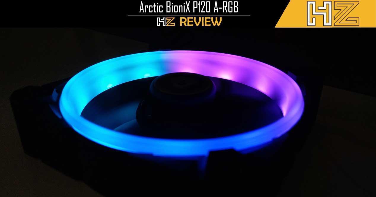 Portada Arctic BioniX P120 A-RGB