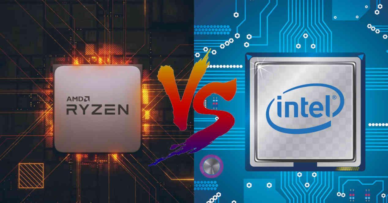 CPU Intel AMD