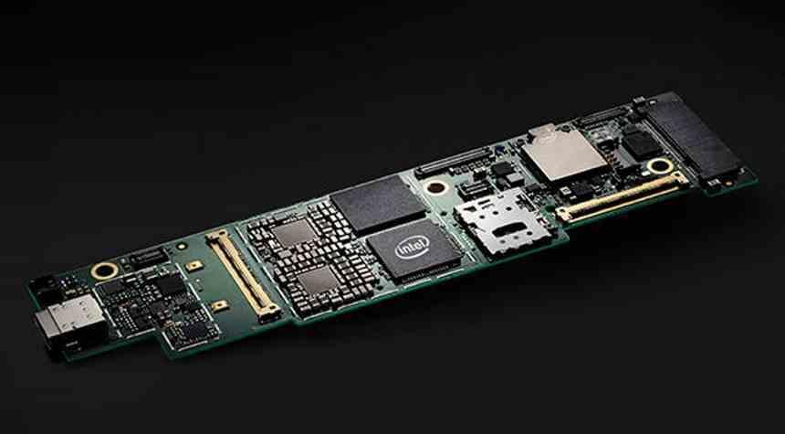 Intel Lakefield Board