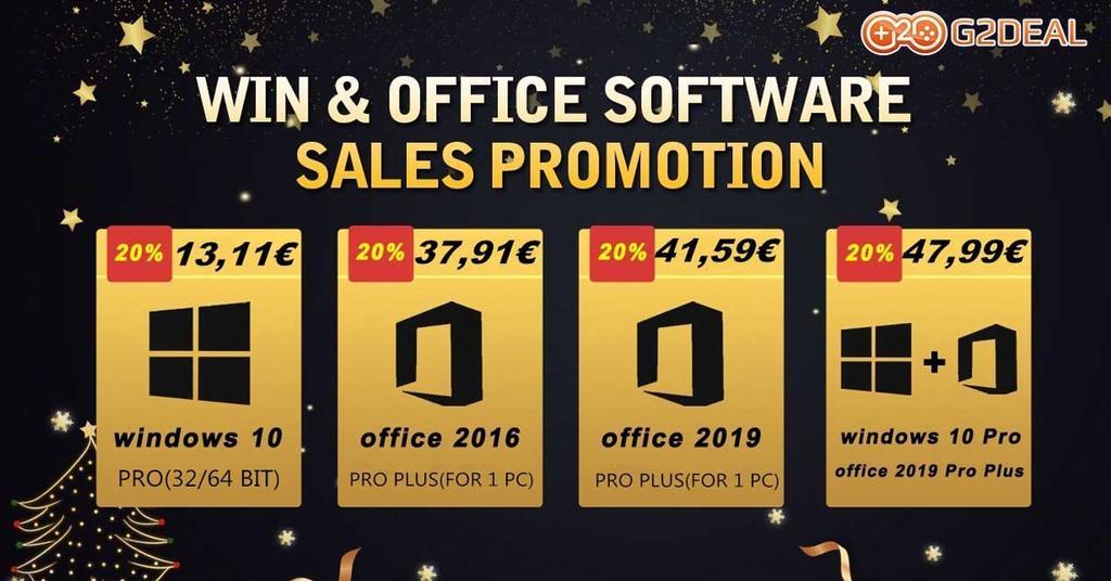 Ofertas Windows 10 y Office