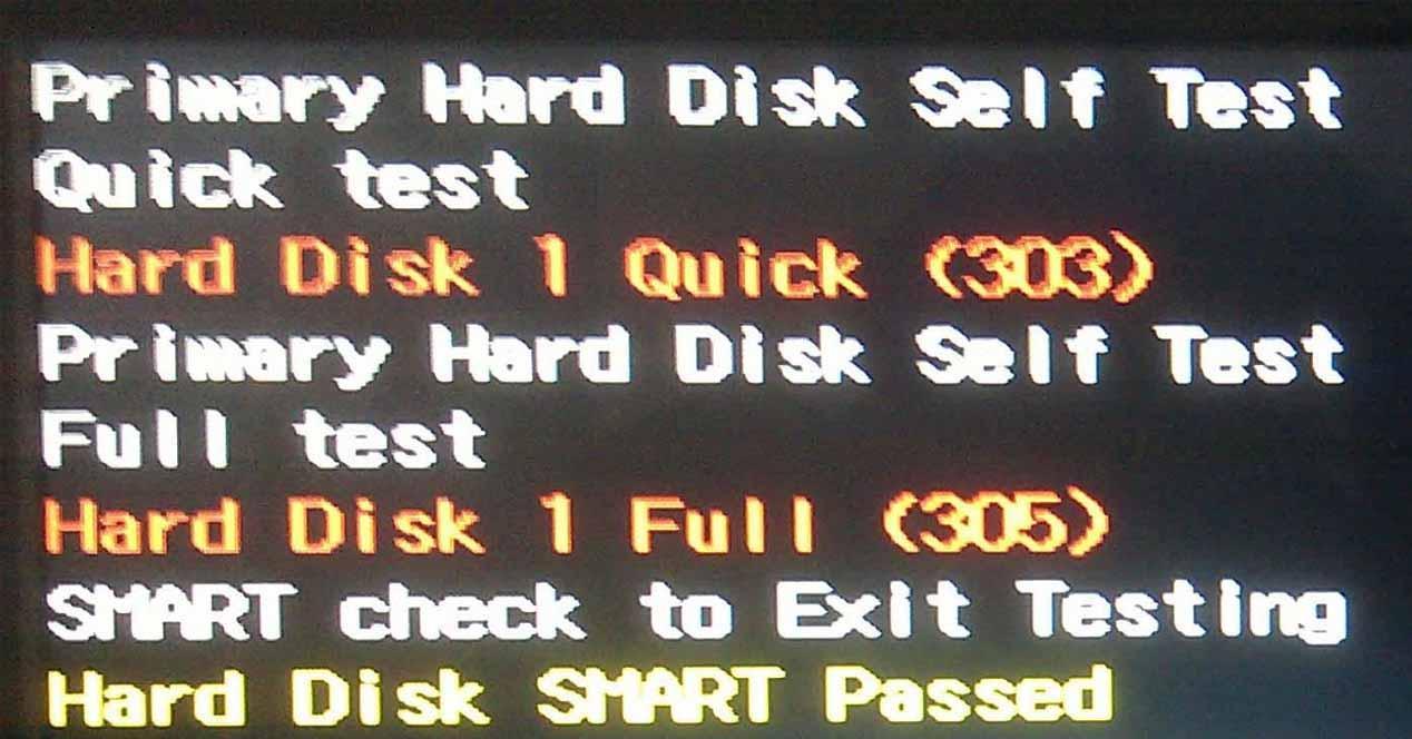Error 303 disco duro