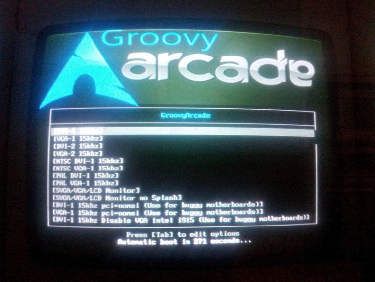 Distribución Linux Maquina Recreativa