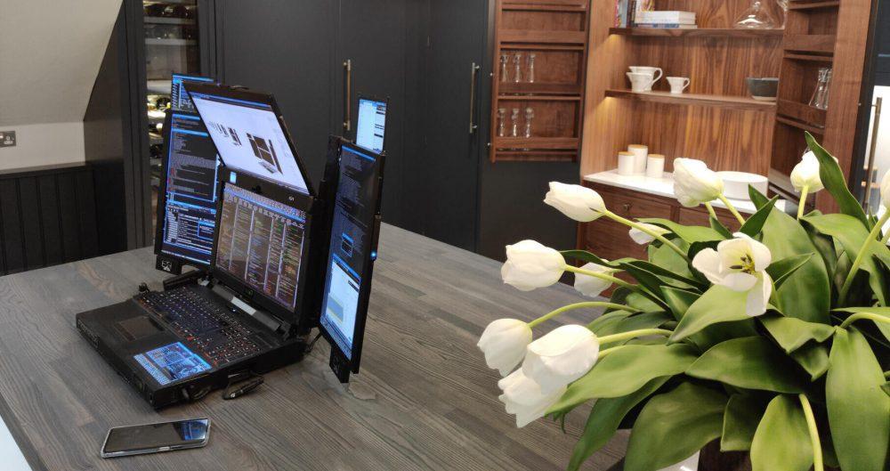 Portátil siete pantallas 2