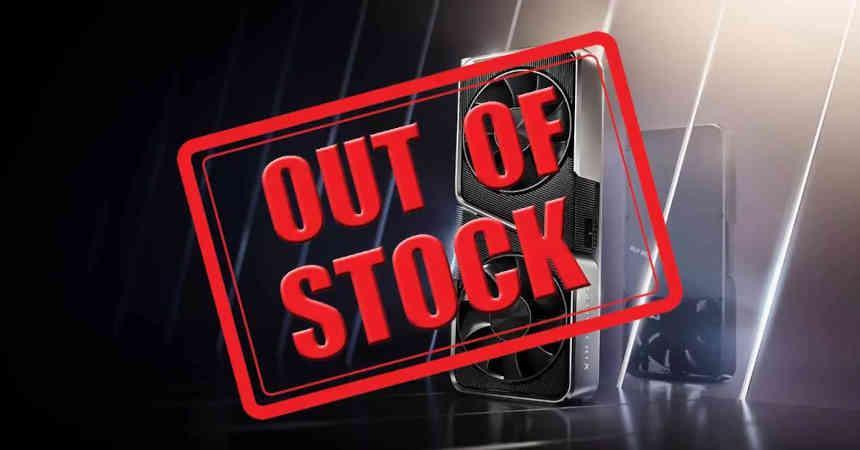 RTX 3000 sin stock