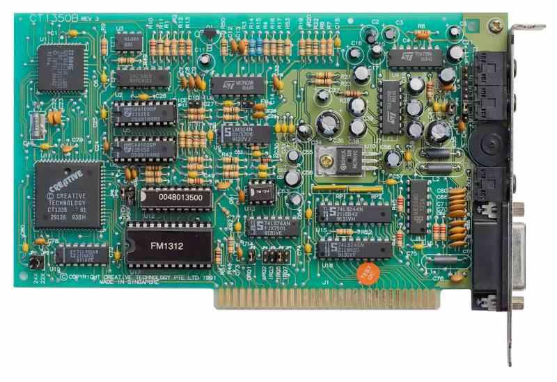 Tarjeta Sonido Sound Blaster 2