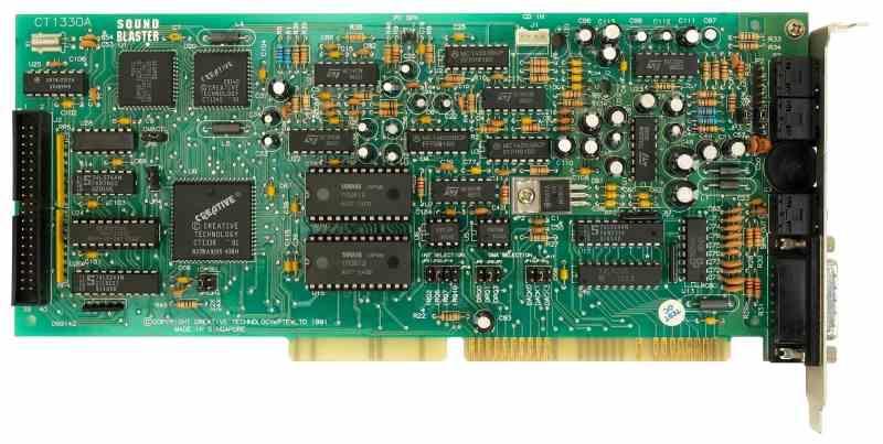 Tarjeta Sonido Sound Blaster Pro